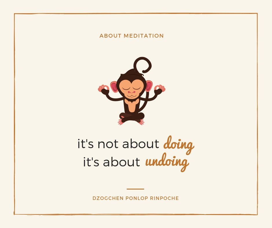 quote_About meditation. It's not about doing, it's about undoing.